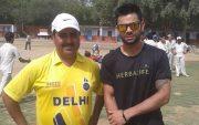 Virat Kohli And Rajkumar Sharma. (Image Credit-Twitter)
