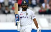 Rohit Sharma. (Photo by Gareth Copley/Getty Images)