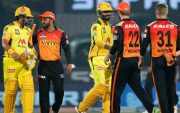 Chennai Super Kings and Sunrisers Hyderabad. (Photo Source: IPL/BCCI)
