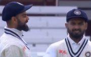 Virat Kohli and Rishabh Pant. (Photo Source: Twitter)