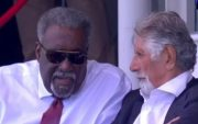 Clive Lloyd at Lord's. (Photo Source: Twitter)
