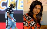 Virat Kohli and Deepika Padukone. (Photo Source: IPL/BCCI and Getty Images)