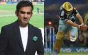 Gautam Gambhir and AB de Villiers. (Photo Source: Getty Images and IPL/BCCI)