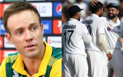 AB de Villiers and Indian cricket Team. (Photo Source: Getty Images)