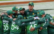 Pakistan Team (Photo by Stu Forster-ICC/ICC via Getty Images)