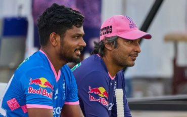 Sanju Samson And Kumar Sangakkara(Image Credit-Instagram)