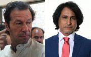 Imran Khan and Ramiz Raja. (Photo Source: Getty Images)