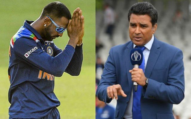 Krunal Pandya and Sanjay Manjrekar. (Photo Source: Getty Images)