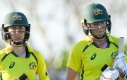 Rachael Haynes and Meg Lanning (Photo by Albert Perez/Getty Images)