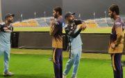 Virat Kohli and Venkatesh Iyer. (Photo Source: Instagram)
