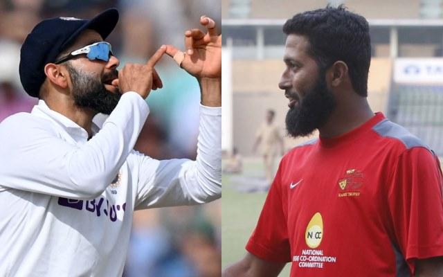 Virat Kohli and Wasim Jaffer. (Photo Source: Getty Images)