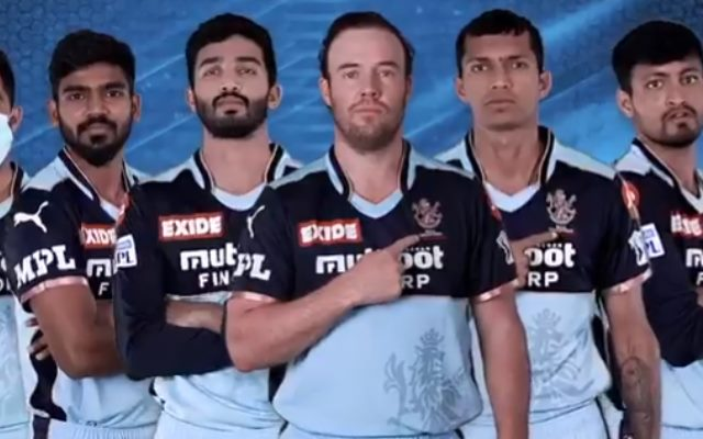 RCB Team In New Jersey (Image Credit- Twitter)