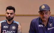 Virat Kohli and Ravi Shastri, (Photo Source: BCCI)