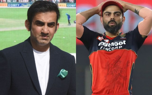 Gautam Gambhir and Virat Kohli (Image Credit-Getty Images and IPL/BCCI)