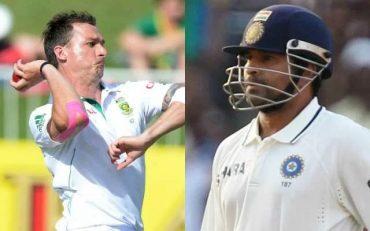 Dale Steyn and Sachin Tendulkar. (Photo Source: Getty Images)
