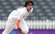 Jhulan Goswami. (Photo by Ashley Allen/Getty Images)