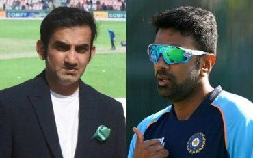 Gautam Gambhir and Ravi Ashwin. (Photo Source: Getty Images)