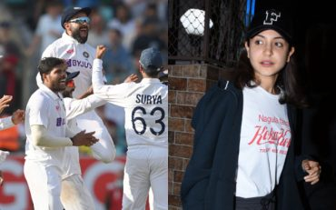 Team India And Anushka Sharma (Image Credit-Getty Images)