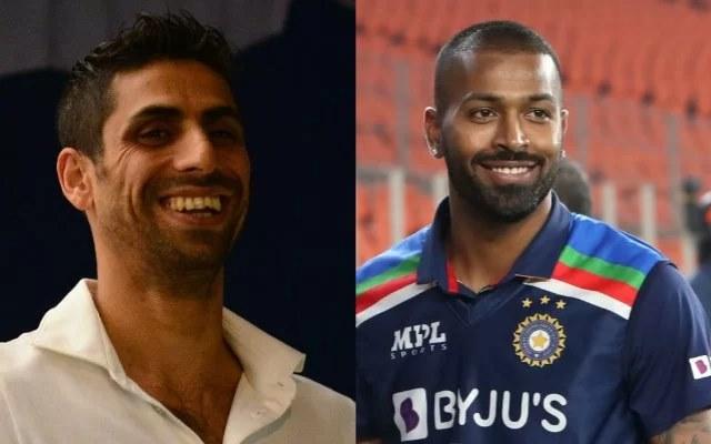 Ashish Nehra and Hardik Pandya. (Photo Source: Getty Images)
