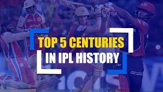 Top 5 Centuries in IPL History | Best Hundreds In IPL ft. AB de Villiers, Rishabh Pant
