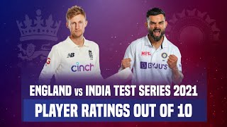 England vs India 2021 Test Series Player Ratings | ENGvsIND Test Series Report Card
