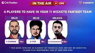 Indian T20 League M-41: Kolkata vs Delhi Pre Match Analysis With Manvinder Bisla & Vimal Kumar