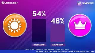 Indian T20 League M-40: Hyderabad vs Rajasthan Pre Match Analysis With VRV Singh & Nivedhana Prabhu