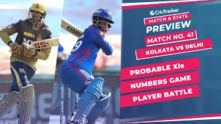 IPL 2021: Match 41, KKR vs DC Predicted Playing 11, Match Preview & Head to Head Record - Sep 28th