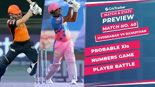 IPL 2021: Match 40, SRH vs RR Predicted Playing 11, Match Preview & Head to Head Record - Sep 27th