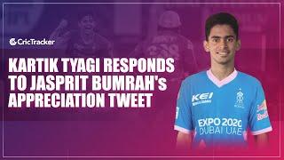 Pre-Match Talk With Kartik Tyagi Ahead Of DCvsRR I Kartik Tyagi Responds To Jasprit Bumrah's Tweet