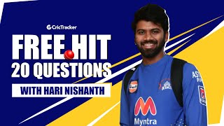 3 Words to describe MS Dhoni? | Thing He Would Steal From Virat Kohli? | Free Hit with Hari Nishanth