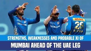IPL 2021 UAE Leg: Strongest Playing XI Of Mumbai Indians | MI Strengths & Weaknesses Analysis