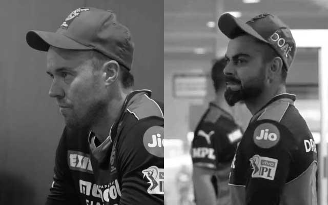 AB de Villiers And Virat Kohli (Image Credit- RCB Instagram)