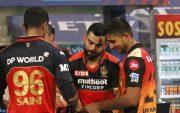 Virat Kohli and Umran Malik. (Photo Source: IPL/BCCI)