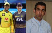 Dhoni,Eoin Morgan And Gautam Gambhir (Image Credit-BCC\IPL\Getty Images)