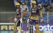 Venkatesh Iyer and Shubman Gill (Photo via IPL/BCCI)