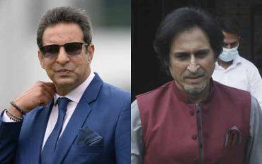 Wasim Akram And Ramiz Raja (Image Credit- Getty Images)