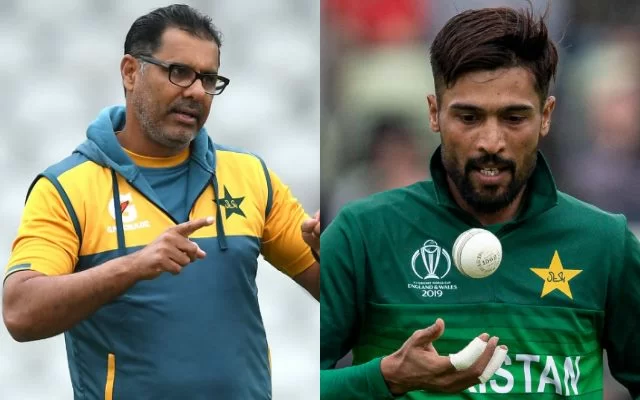 Waqar Younis and Mohammad Amir. (Photo Source: Getty Images)