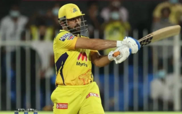 MS Dhoni batting. (Photo Source: IPL/BCCI)