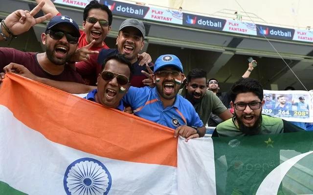 India vs Pakistan. (Photo Source: Twitter)