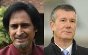 Ramiz Raja and Ian Watmore. (Photo Source: Getty Images)