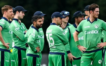 Ireland cricket Team. (Photo By Seb Daly/Sportsfile via Getty Images)