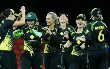 Australia women vs India women. (Photo by Matt Roberts/Getty Images)