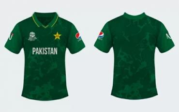Pakistan Cricket Jersey. (Photo Source: Ghulam Abbas Shah/Twitter)