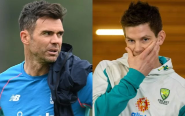 James Anderson and Tim Paine. (Photo Source: Getty Images)