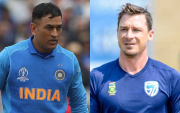 MS Dhoni and Dale Steyn. (Photo Source: Getty Images)