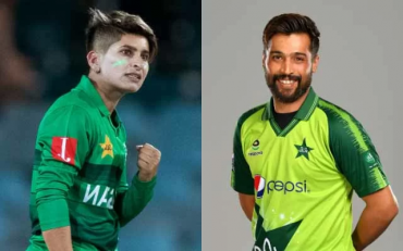 Nida Dar and Mohammad Amir. (Photo Source: Getty Images)