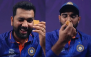 Rohit Sharma and Mohammed Shami. (Photo Source: Instagram)