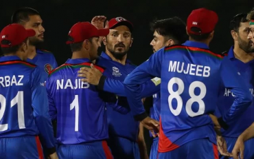 Afghanistan cricket team. (Photo by Matthew Lewis-ICC/ICC via Getty Images)