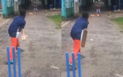 A kid bowling. (Photo Source: Instagram)